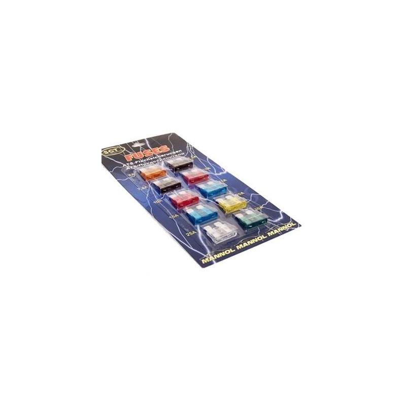 Bezpieczniki Mannol SCT małe płytkowe 9502 10szt