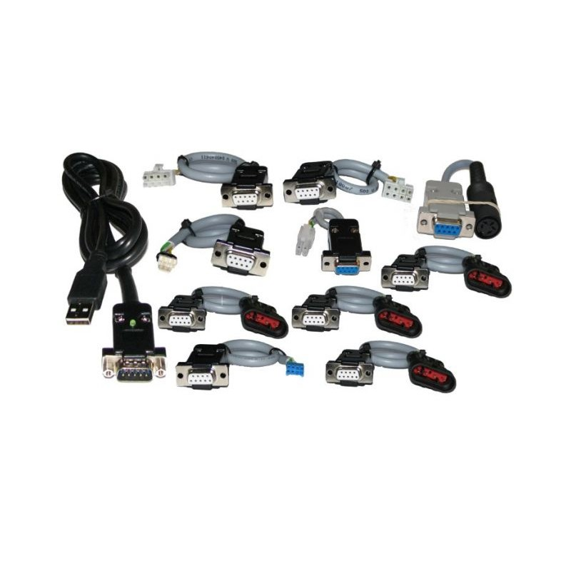 Interfejs gazu LPG PRO USB 10 rodzajów wtyków