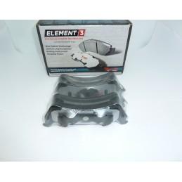 Klocki hamulcowe Tył Raybestos EHT667H E3 Hybrid Racing Ford Explorer