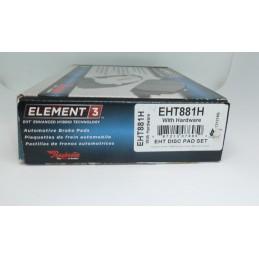 Klocki hamulcowe Tył Raybestos EHT881H E3 Hybrid Racing Ford Explorer