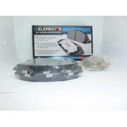 Klocki hamulcowe Przód Raybestos EHT652H E3 Hybrid Racing Ford Explorer