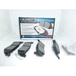 Klocki hamulcowe Tył Raybestos EHT981H E3 Hybrid Racing Ford Explorer
