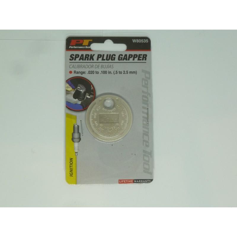 Szczelinomierz ustawiacz przerwy świecy PT W80535