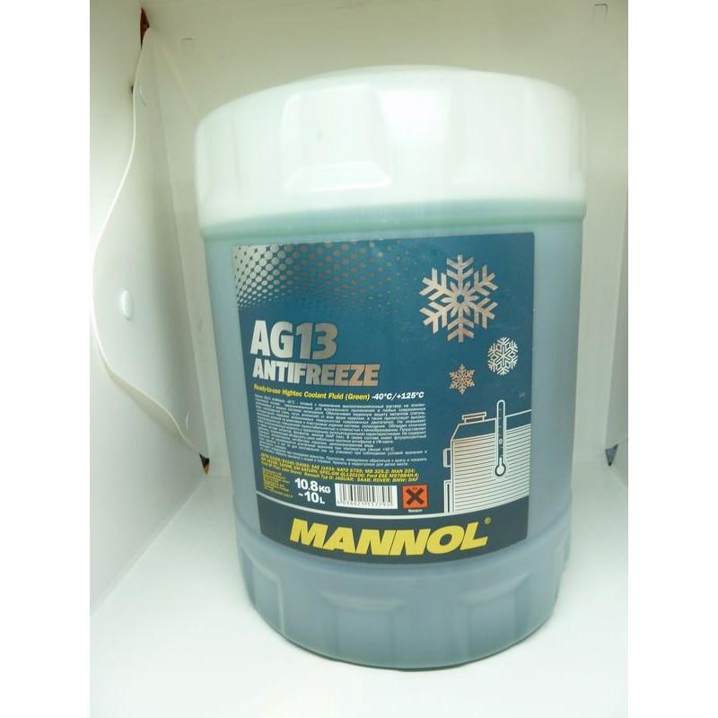 Płyn chłodniczy Zielony  AG13 10L (-40)