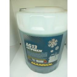 Płyn chłodniczy Zielony Mannol  AG13 10L (-40)